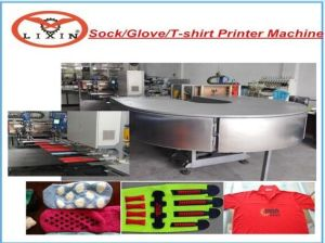 Automatic Silicone Anti-Slip Printing Machine for Socks/Glove/T-Shirt pictures & photos