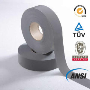 Grey Polyester Reflective Tape for Safety Vest (1102) pictures & photos