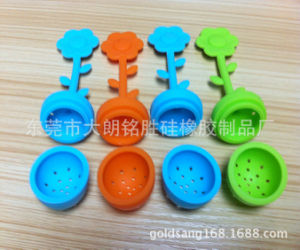 Hot Sell Silicone Rubber Flower Shape Tea Infuser pictures & photos