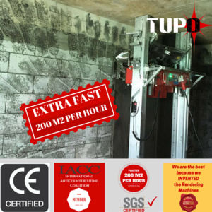 Tupo 2016 Newest Digital Wall Plastering Machine Export to Singapore Market pictures & photos