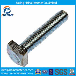 Stainless Steel Ss304 Full Thread Square Head Bolts pictures & photos