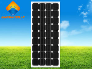 Hot Sale Powerful 130W-160W Mono Silicon Solar Panel pictures & photos