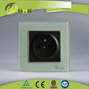 TUV Certified EU Standard Green Thoughened Glass French Socket Manufacturer pictures & photos