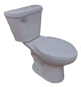 Two Piece Ceramic Sophinic Toilet with Cupc Certification 00059L pictures & photos