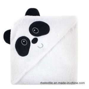 Baby Cotton Bath Blanket Hooded Towel with High Quality pictures & photos