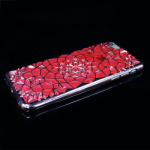 Electroplate Bright Diamond 3D IMD Craft TPU Phone Case for iPhone 5/6/6p pictures & photos