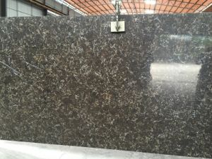 Artificial Stone Brown Quartize Slabs pictures & photos