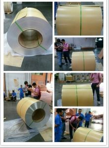 ASTM Aluminum/Aluminium Coil with Width up to 2620mm (1050 1060 1100 3003 3105 5005 5052 5754) pictures & photos