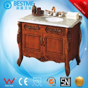 Home Furniture Solid Wooden Classical Design Cabinet by-F8032 pictures & photos