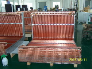 9.52mm Riffled Copper Tubehalocrbon Louvered Fin Heat Exchanger pictures & photos