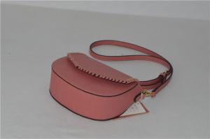 Braided PU Crossbody Saddle Designer Handbag Zxk1736 pictures & photos