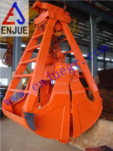 Mechanical Four Ropes Clamshell Dredging Grab for Crane pictures & photos