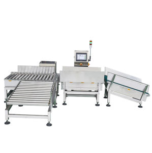 Touch Screen Food Conveyor Checkweigher pictures & photos