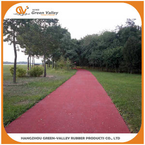 Red EPDM Rubber Granules Crumbs for Jogging Track Surface pictures & photos