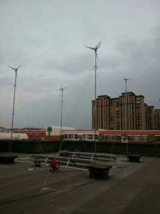 Small Wind Mill Generator 12V /24V 100W White (SHJ-100S) pictures & photos