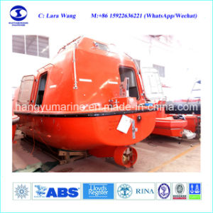 Iacs Approval Fire Retardant Life Boat with Platform Davit pictures & photos