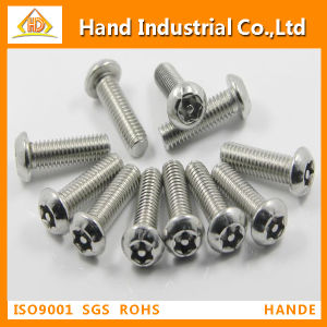 Stainless Steel Torx with Pin Button Head Security Screws pictures & photos