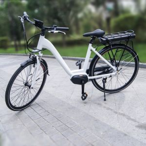 36V 250W Bafang Max MID Motor Lady City Electric Bicycle pictures & photos