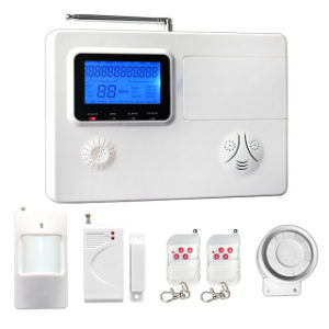 PSTN&GSM Wireless Home Intruder Alarm System with Antenna pictures & photos