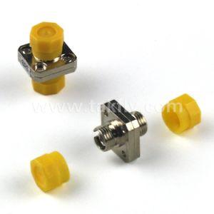 0.2dB St/FC Single Mode Simplex Duplex Fiber Optic Adapter pictures & photos