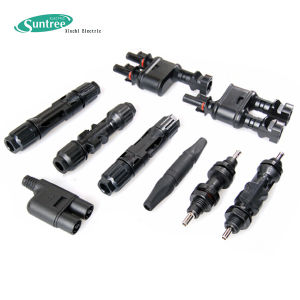 Mc4 Solar Connector and Panel Connector (4mm2 and 6mm2) pictures & photos