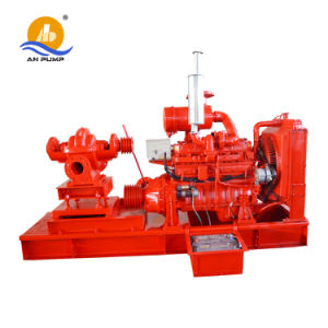 Large Flow Double Suction Split Case Diesel Irrigation Water Pump pictures & photos