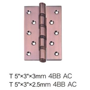 High Quality Security Stud Iron Door Hinge (5*3*3-4BB AC) pictures & photos