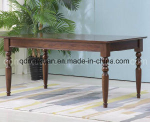 Solid Wooden Dining Desk Living Room Furniture (M-X2848) pictures & photos