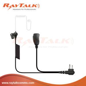 2 Wire Surveillance Acoustic Tube Earpiece for Motorola Ep450 pictures & photos