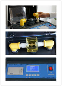 Alibaba Express Electronic Power Usage Insulating Oil Breakdown Volt Tester pictures & photos
