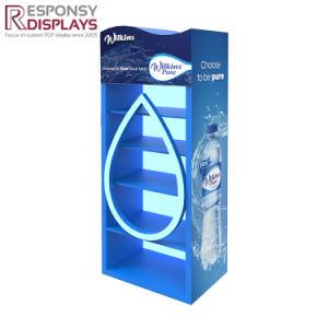 ODM Wood Floor Pure Water Dispenser Display Rack pictures & photos