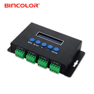 4 Channels Ethernet to DMX Spi Ucs1903 2904 Pixel Light LED Controller Ws2811 Wireless Controller
