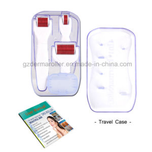 Professional Drs Dermaroller 4 in 1 Kit with 0.5/1.0/1.5mm Needle Size for Eyes, Face and Body Care pictures & photos