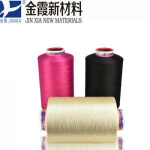 Dope Dyed Polyester Yarn DTY 150d/72f pictures & photos