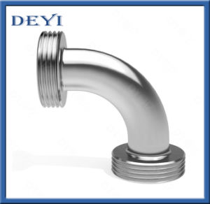 Sanitary Stainless Steel 90 Degree Male Threaded Elbow (DY-E030) pictures & photos