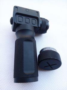 Erains Tac Optics Tactical CREE Q5 200 Lumens Quick Detach Aluminum Grip & LED Light LED Flashlight pictures & photos