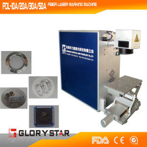 Glorystar Fiber Laser Marking Machine for Manufactures pictures & photos