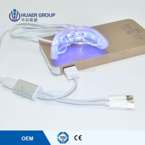 Newest LED USB Phone Connected Teeth Whitening Mini Light FDA pictures & photos
