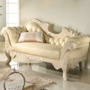 Wood Chaise Lounge Chair From Foshan Furniture Factory (98C) pictures & photos