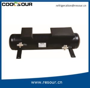 Horizontal Liquid Reservoir with Plate, Liquid Container, Refrigeration Reservoir Tank pictures & photos