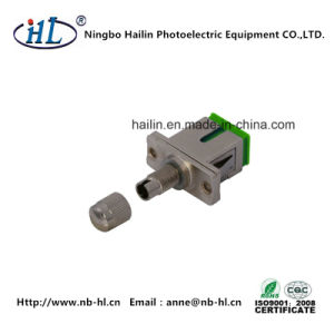 Sc-DIN Sm/APC Fiber Optic Adapter for Instrumentation Equipment pictures & photos