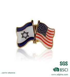 Wholesale Metal National Flag Enamel Lapel Pin (xd-0904) pictures & photos
