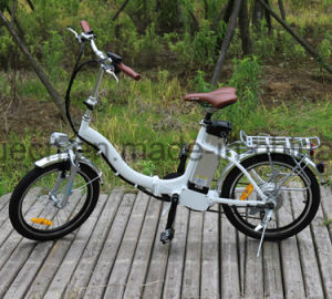 250W 36V Lady Electric Bicycle with Throttle pictures & photos