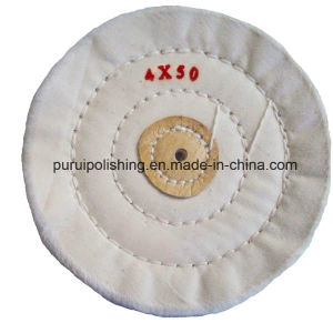 White Muslin Buffing Polishing Wheel for Jewelary pictures & photos