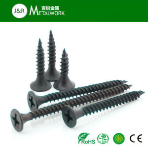 #6-#10 Black Phosphated Drywall Screw pictures & photos