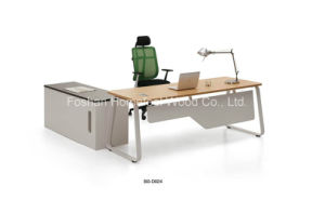 Rational Construction and Attractive Design Wooden Office Table (BS-D024) pictures & photos