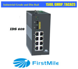 Gigabit Managd Industrial Switch IDS 610 (3*Gigabit ports) pictures & photos