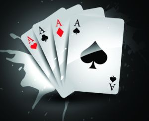 Adversting Paper Poker for Promotion pictures & photos
