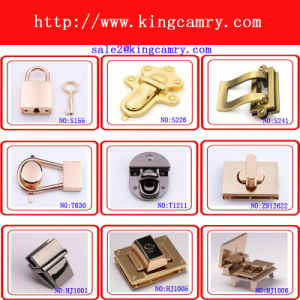 Metal Handbag Twist Lock Purse Turn Lock Bag Mortise Lock pictures & photos