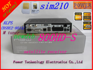DVB 800HD PRO 801A Tuner M Version Dm 800s SIM Card 2.01 Gp510 Support Enigma2 Dm800HD Prolinux OS